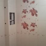 В туалете на стене
