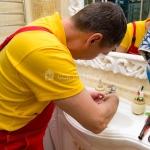 Герметизация раковины, умывальника 🏆 в Москве заказать на дом недорого - Фото 1