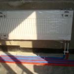 С установкой радиаторов отопления