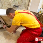 Установка, замена акриловой ванны 🏆 в Москве заказать на дом недорого - Фото 5