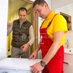 Услуги сантехника: установка стиральной машины