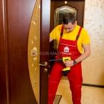 Установка дверной ручки 🏆 в Москве заказать на дом недорого - Фото 7