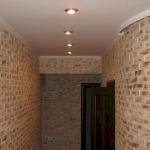 Подключение ламп в коридоре