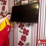 Установка, подключение телевизора 🏆 в Москве заказать на дом недорого - Фото 2