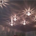 Лампы с плафонами из стекла