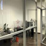 Монтаж стеклянных перегородок