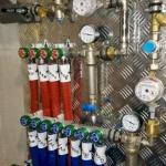 Подключение труб водоснабжения