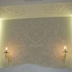 Монтаж подсветки спальни