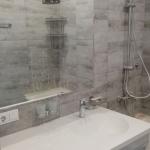 В ванную над мойкой размером 145x130 см