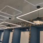 Подвесной квадратный на потолок