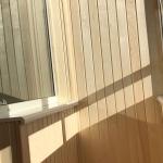Вагонка на стены балкона