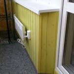 Монтаж электрорадиатора на балкон