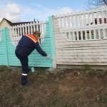 Покраска забора 🏆 в Москве заказать на дом недорого - Фото 7