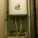 Установка водонагревателя и его подключение