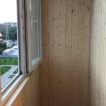 Балкон перекрыт вагонкой