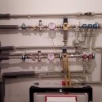 Врезка приборов, трубы ПВХ и металл