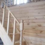 Монтаж деревянных перил