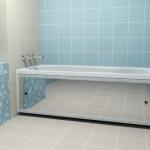 Установка экрана под ванну 🏆 в Москве заказать на дом недорого - Фото 2