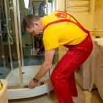 Замена, ремонт роликов душевой кабины 🏆 в Москве заказать на дом недорого - Фото 3
