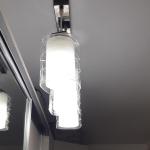 Секция три лампы
