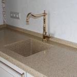 Монтаж кухонной мойки из камня 🏆 в Москве заказать на дом недорого - Фото 5