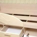 Стенка с шкафчиками