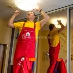 Сборка, установка люстры 🏆 в Москве заказать на дом недорого - Фото 6