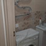 Установка стиральной машины и полотенцесушителя