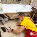 Установка, замена акриловой ванны 🏆 в Москве заказать на дом недорого - Фото 6