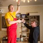 Установка, замена люминесцентных светильников 🏆 в Москве заказать на дом недорого - Фото 7