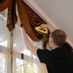 Химчистка штор с выездом 🏆 в Москве заказать на дом недорого - Фото 5